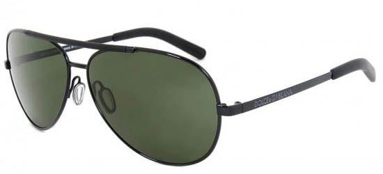 DOLCE & GABBANA 2141 0 171 Dark Grey Frame/Green Lens