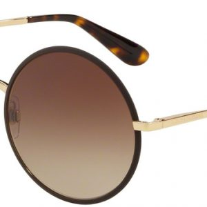 DOLCE & GABBANA 2155 1320/13 Matte Brown/brown Shaded