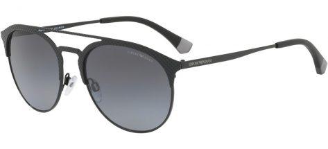 EMPORIO ARMANI EA2052 3014/T3 Matte Black / Grey Gradient