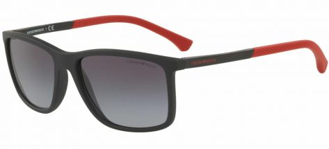 EMPORIO ARMANI EA4058 5649/8G Black Rubber / Grey Gradient