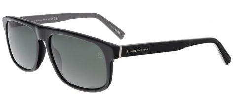 ERMENEGILDO EZ0003 01/R Shiny Black/Green