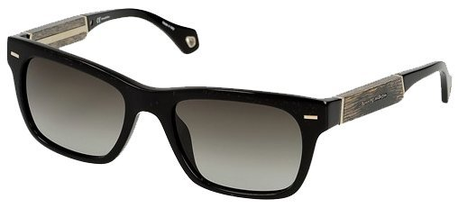 ERMENEGILDO SZ3652-G 07/00 Black Metallic Frame With Graceful Arms