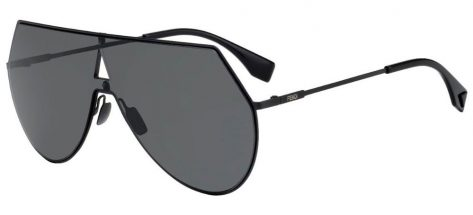 FENDI FF0193/S 807/IR Black/Dark Grey