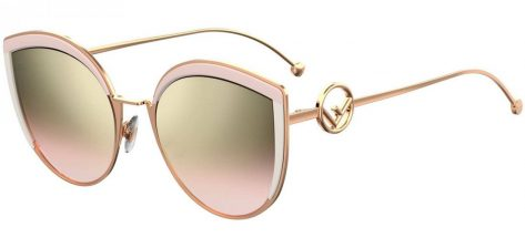 FENDI FF0290/S 35J/53 Pink/brown Pink Shaded