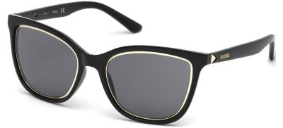 Guess GU7467 01A Shiny Black / Smoke