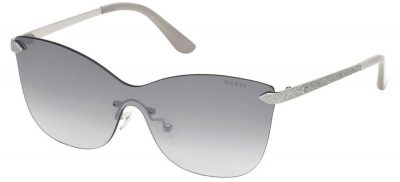 Guess GU7549 10C Shiny Palladium/Grey Shaded