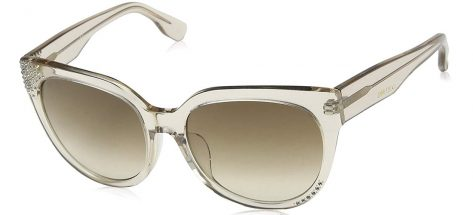 Jimmy Choo Ola/f/s I4J/JD Brown Transparent
