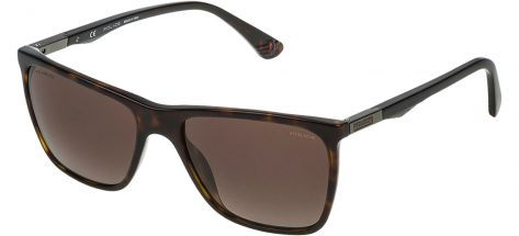 POLICE SPL362 722P Shiny Dark Havana/Brown Gradient