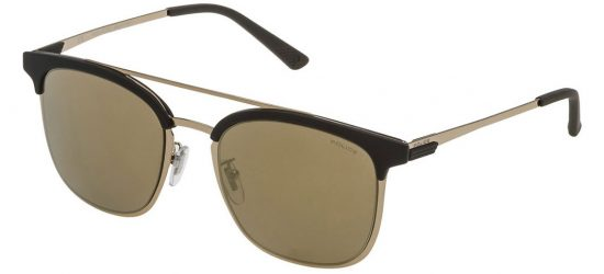 Police SPL569 8FFG Shiny Light Gold/Brown / Mirrored Gold