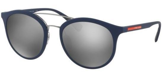 PRADA 04R TFY7/W1 Blue Rubber/Grey Silver Mirror