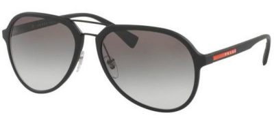 PRADA 05R DG00/A7 Blue Rubber/Grey Shaded
