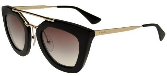 PRADA 09Q 1AB0/A7 Black/Light Grey Shaded