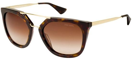 PRADA 13Q 2AU6/S1 Dark Havana/Brown Shaded
