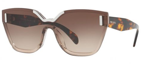 PRADA 16T VIQ-6S1 Light Brown/Brown Gradient
