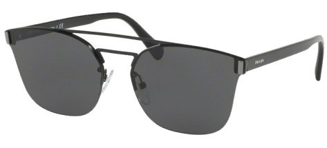 PRADA 67T 1AB-5S0 Black/Grey