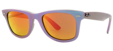 Ray-ban RB2140 6111/69 Pearl Green Purple / Petrol