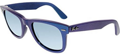 RAY-BAN RB2140 6113/30 Mettalic Azure/Green Mirror Silver