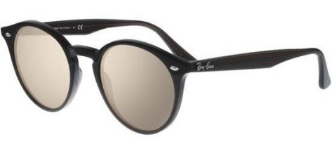 RAY-BAN RB2180 231/3D Opal Brown/Brown Silver Mirror Shaded