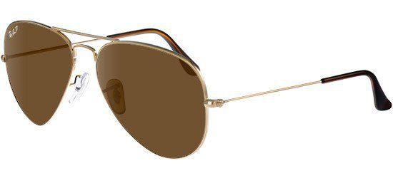 RAY-BAN RB3025 001/57 Gold/b-15 Classic Brown