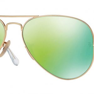 Ray-ban RB3025 112/19 Matte Gold/Green Flash