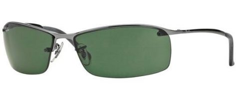 RAY-BAN RB3183 004/71 Ruthenium/Grey Green