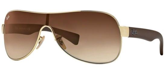 RAY-BAN RB3471 0 0113 Gold/Brown Shaded