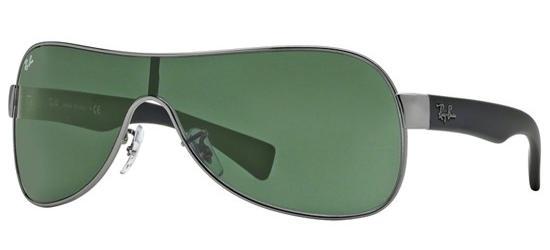 RAY-BAN RB3471 0 0471 Ruthenium Black/Grey Green