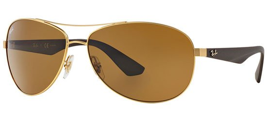 RAY-BAN RB3526 112/83 Matte Gold/Polarized Brown Classic B-15