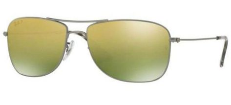 RAY-BAN RB3543 029/6O Matte Ruthenium/Green Gold