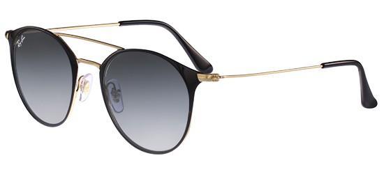 RAY-BAN RB3546 18771 Gold Black/Crystal Grey Shaded