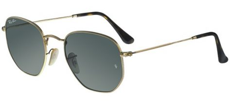 RAY-BAN RB3548N 0 01 Gold/G-15 Classic Green