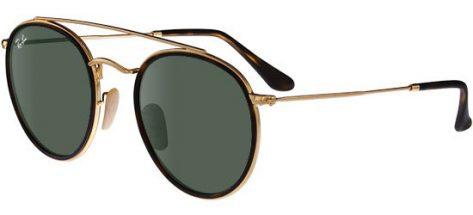 RAY-BAN RB3647N 001/ Gold Havana/G-15 Classic Green