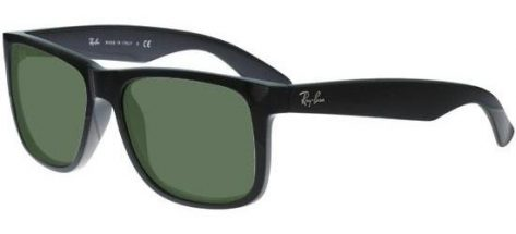 RAY-BAN RB4165 601/71 Black/Grey Green