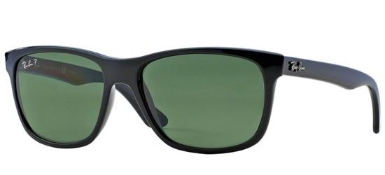 RAY-BAN RB4181 601/9A Shiny Black/Grey Green