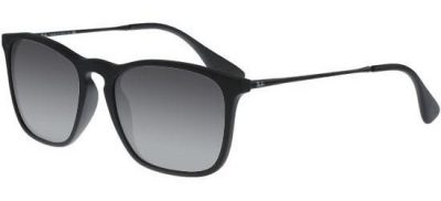 RAY-BAN RB4187 622/8G Matte Black Dark Ruthenium/Grey Shaded