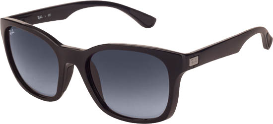 RAY-BAN RB4197 601/8G Black Blue Gradient