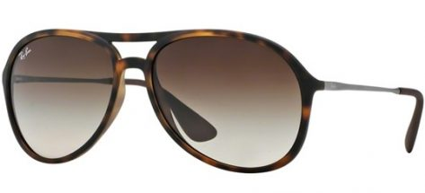 RAY-BAN RB4201 865/13 Havana/Brown Shaded
