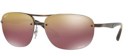 RAY-BAN RB4275CH 710/6B Havana/Purple Gold Shaded