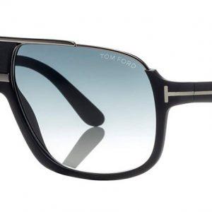 TOM FORD TF335 02W Matte Black/Blue Shaded