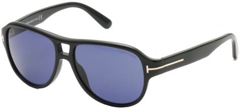 TOM FORD TF446 01V Shiny Black/Blue