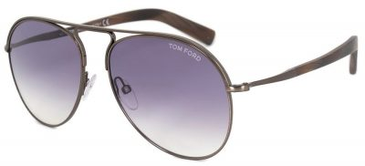 TOM FORD TF448 48Z Gunmetal/Purple Gradient
