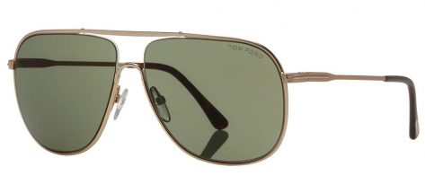 TOM FORD TF455 28N Shiny Rose Gold/Green
