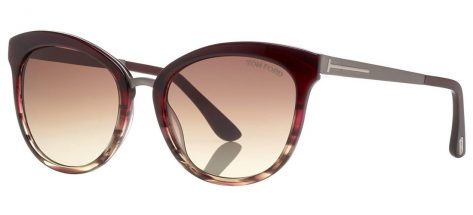 TOM FORD TF461 71F Burgundy/Brown Gradient