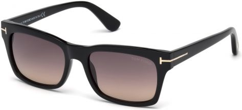 TOM FORD TF494 01B Shiny Black / Gradient Smoke