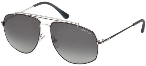 TOM FORD TF496 18A Light Ruthenium/Smoke