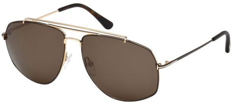 TOM FORD TF496 28J Rose Gold/Brown