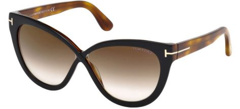 TOM FORD TF511 05G Black Havana/Brown Mirror