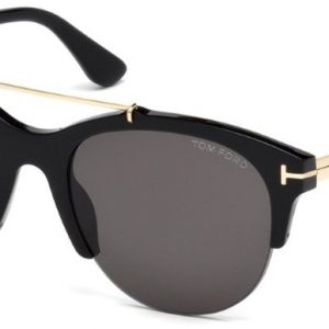 TOM FORD TF517 01A Adrenne Shiny Black/Smoke