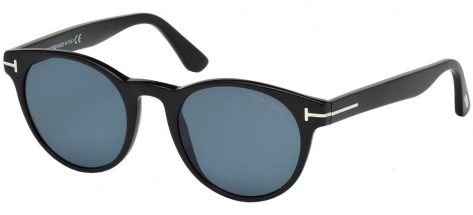TOM FORD TF522 01V Shiny Black/Blue