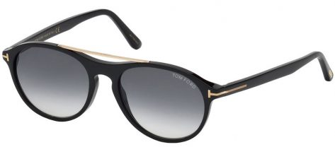 TOM FORD TF556 01B Black/Grey Green Shaded